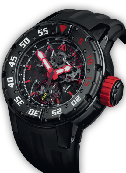 RM 025 TOURBILLON CHRONOGRAPH DIVERS WATCH