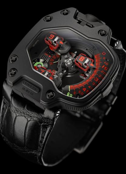 UR-110 Black Platinum