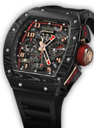 RM011 NTPT CARBON Romain Grosjean Lotus F1 FLYBACK CHRONOGRAPH