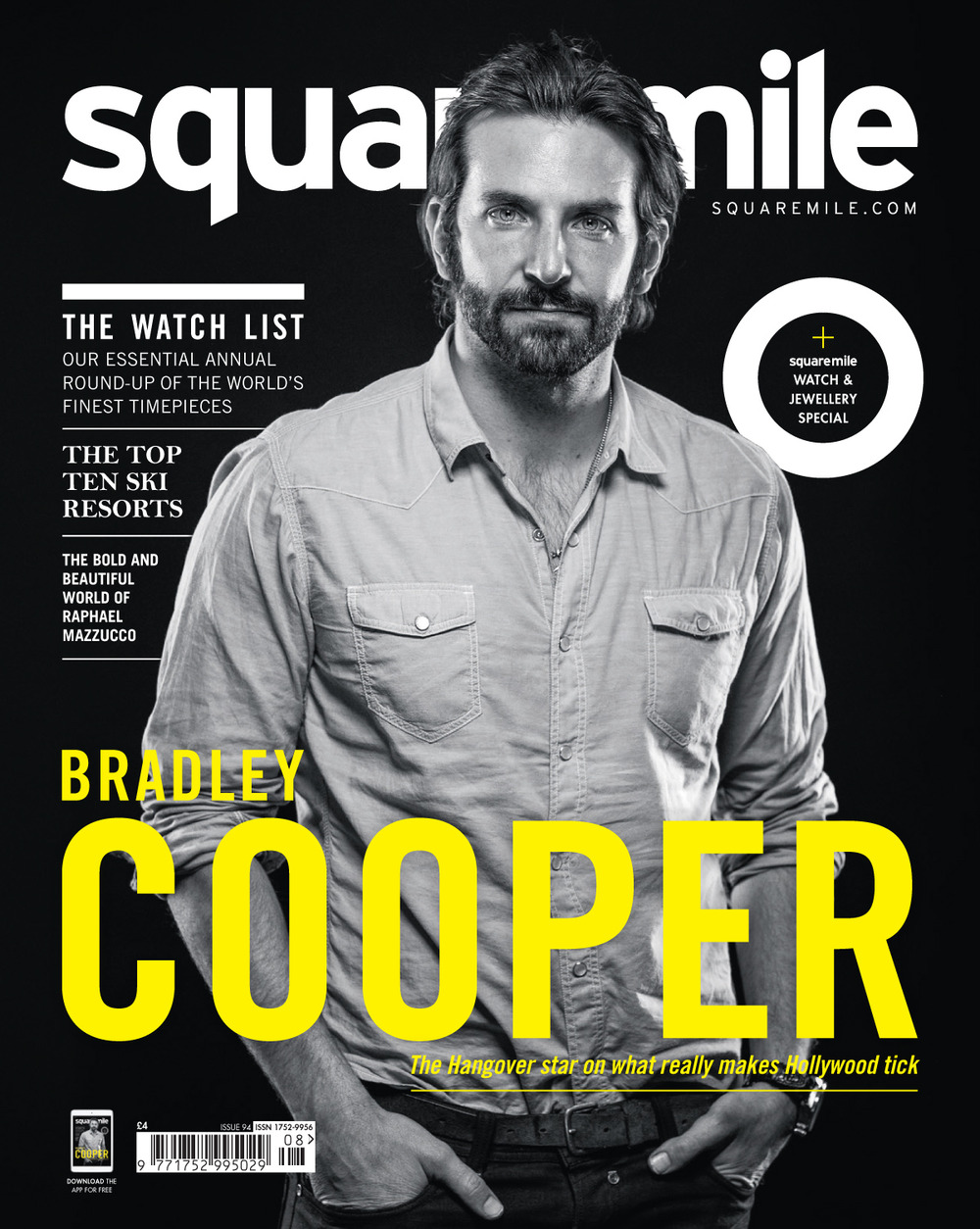 Square Mile October 2014 Bradley Cooper