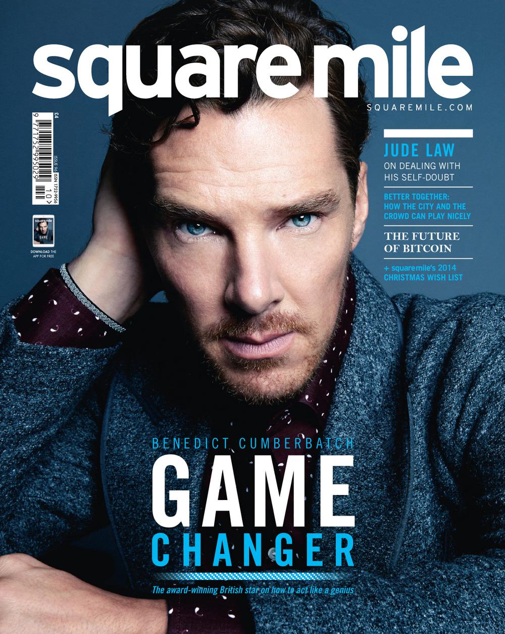 Square Mile December 2014 Benedict Cumerbatch