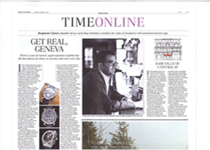 Telegraph - Time Watch Review