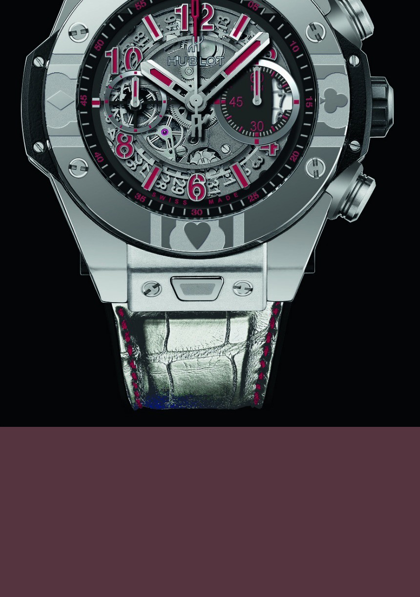 Big Bang UNICO WORLD POKER TOUR STEEL
