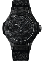 Big Bang BRODERIE ALL BLACK DIAMONDS 41mm