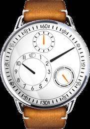 Type 1 White Dial