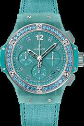 Big Bang Linen Turquoise