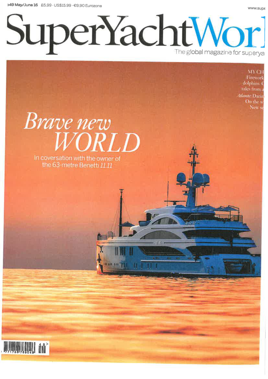 Super yacht world June 16