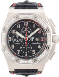 ROYAL OAK OFFSHORE SHAQUILLE O'NEAL WHITE GOLD