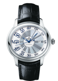 MILLENARY WHITE GOLD WHITE ARABIC DIAL
