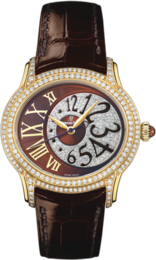 MILLENARY LADIES AUTOMATIC PINK GOLD WITH DIAMONDS