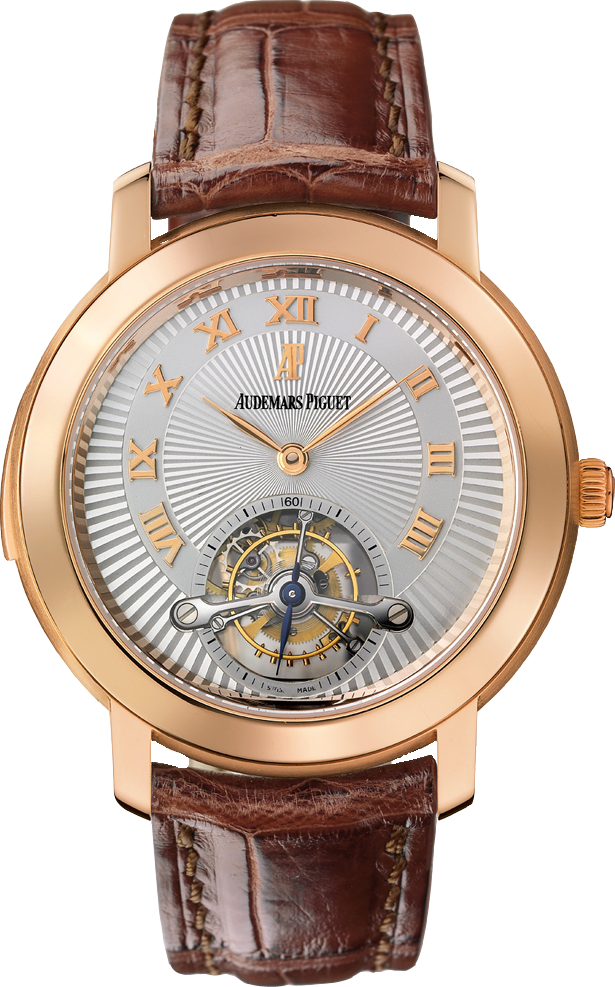 JULES AUDEMARS PINK GOLD MINUTE REPEATER TOURBILLON