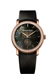 JULES AUDEMARS LADIES ROSE GOLD WITH MOTHER-OF-PEARL DIAL