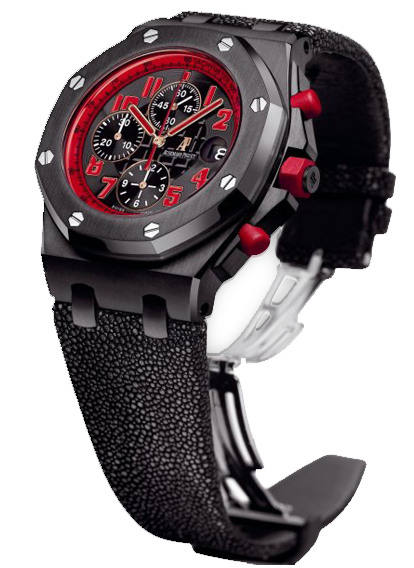 ROYAL OAK OFFSHORE BLACK & RED MARCUS EDITION
