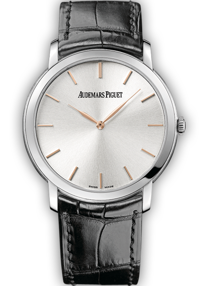 Jules Audemars Extra Thin White Gold Silver Dial