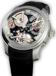 Double Tourbillon 30º Technique white Gold