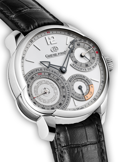 Quadruple Tourbillon Secret Platinum