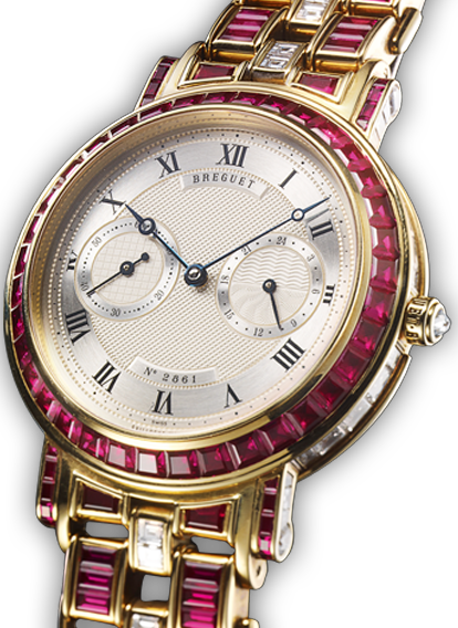 CLASSIQUE MINUTE REPEATER RUBY AND DIAMOND UNIQUE PIECE 24 HOUR TIME