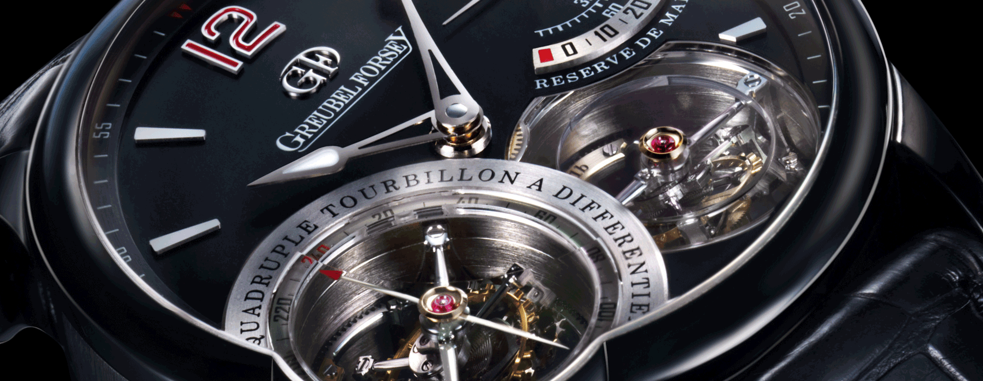 UNIQUE QUADRUPLE TOURBILLON