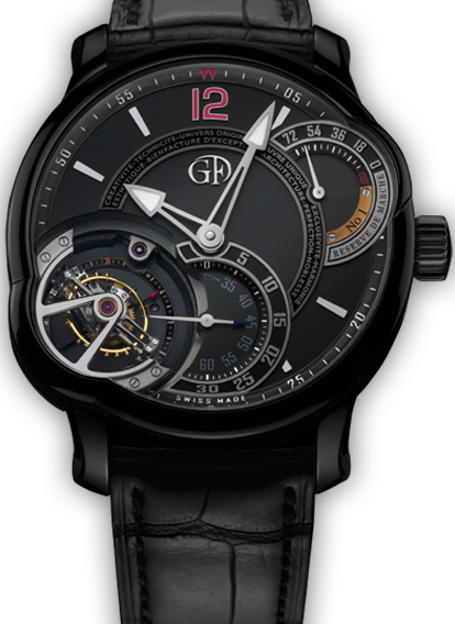 UNIQUE TOURBILLON 24 SECONDES
