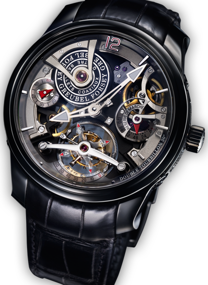 UNIQUE DOUBLE TOURBILLON 30º TECHNIQUE