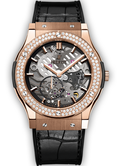 Classic Fusion Classico Ultra-Thin King Gold Diamonds