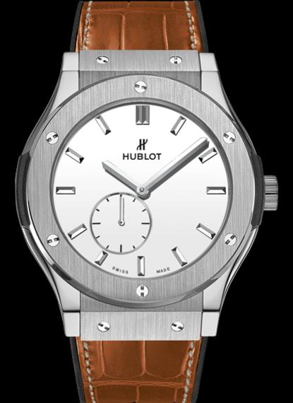 Classic Fusion Classico Ultra-Thin Titanium White Shiny Dial