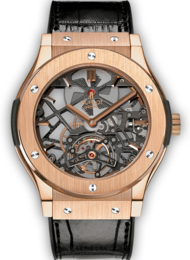 Classic Fusion Skeleton Tourbillon King Gold