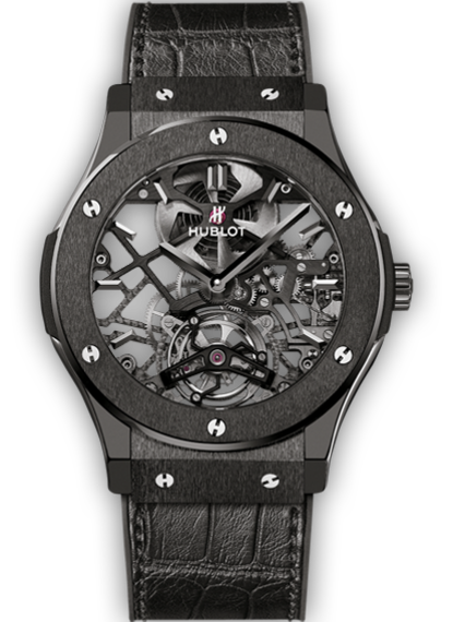 Classic Fusion Skeleton Tourbillon All Black
