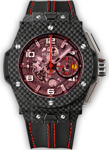 Big Bang Ferrari Carbon Red Magic