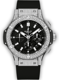 Hublot Big Bang Steel Pave
