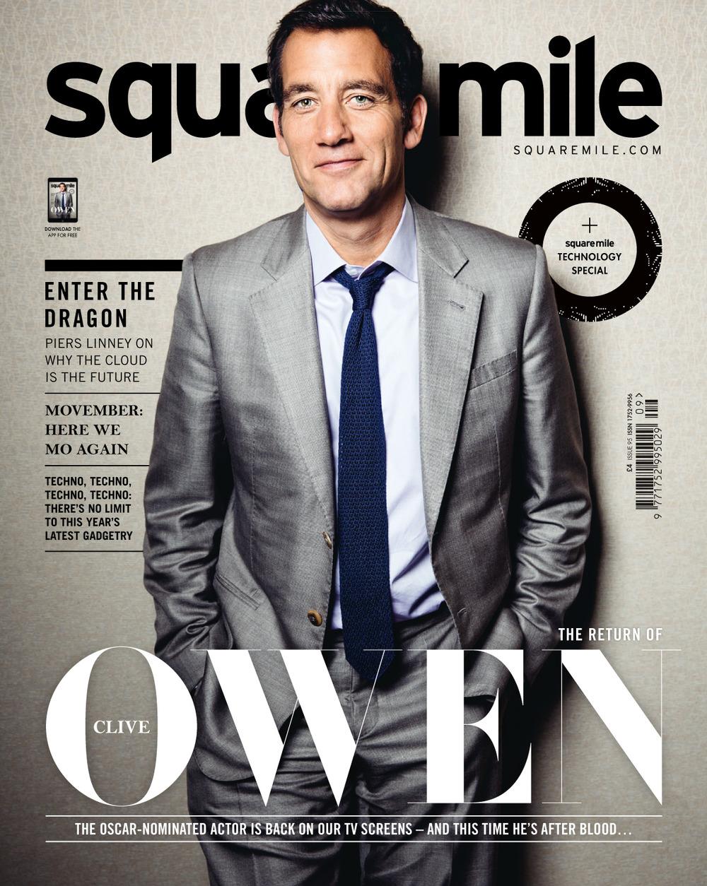 Square Mile November 2014 Clive Owen